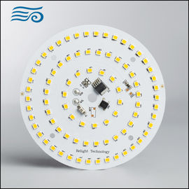 China Round SMD AC LED Module Panel , 800LM Led Downlight Module PCB supplier