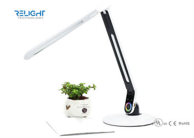 LED Screen Rechargeable Battery Operated Desk Lamp With Calendar and Alarm Clock Display