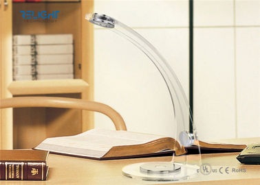 China Acrylic Desk Lamp with Adjustable Light Colors Blue and White Color Firm Body factory