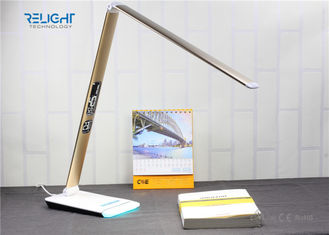 China Eye Protection Foldable Desk Lamp with LCD Calendar Display and Ambient Light Dimmable Brightness factory