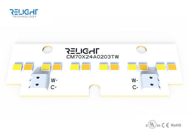 Dual Color Linear Dimmable LED Module 120 Degee Beam Zhaga Board 70x24mm 1W