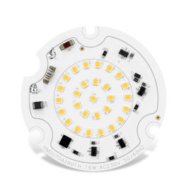 SMD2835 AC120v/230V Round LED Module D100mm PF0.95 2700k-6500K CRI Up To 90