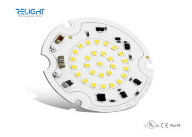 DC Round SMD Led Pcb Module Al High Power For Ceiling Light , Flood Light And Indoor Light