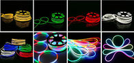 Waterproof NEON LED Strip IP67 Flexible Led Neon Rope 19.2 Watts Input Power supplier