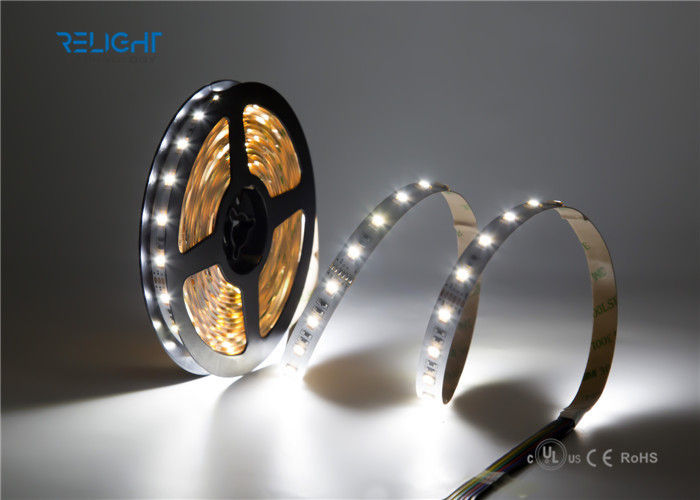 High Capacity SMD 5050 Waterproof LED Strip Lights 5m IP20 / IP65 12V Copper Material supplier