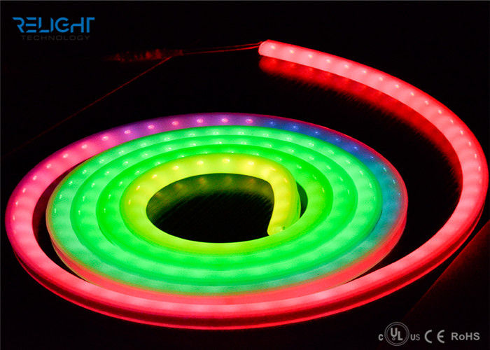 High Brightness 5050 RGB 72W Dimmable Flexible LED Strip Lights For Home / Bar supplier