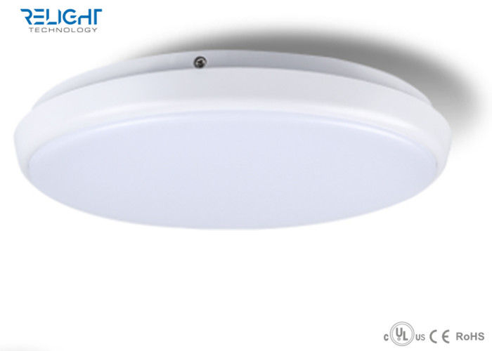 Surface Mounted Round LED Ceiling Panel Lights Bathroom Waterproof IP54