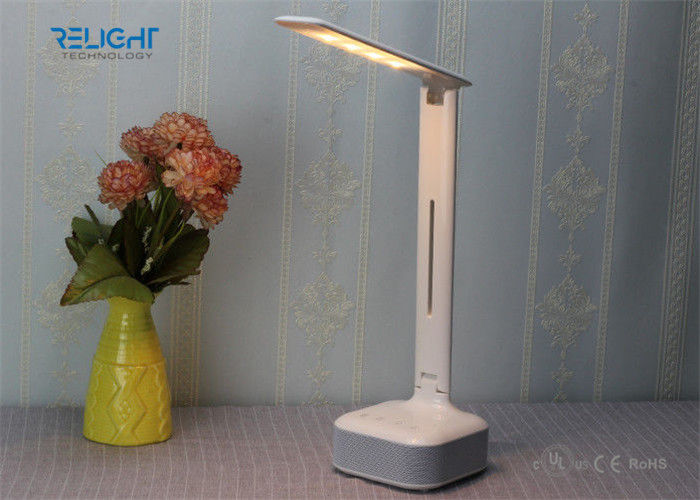 Bluetooth Dimmable LED Reading Lamp With Music Player , Full Range Lighting Angle