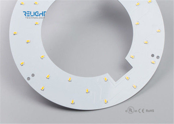Waterproof Sign LED PCB Module , High CRI LED Module Panel Ring Shape supplier