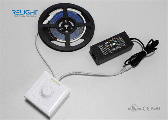 SMD 5050 RGB Waterproof LED Strip Lights with Controller and Driver 14.4W Power