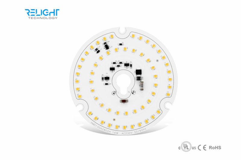TRIAC Dimmable 16w Led Module  round AC 230V High efficiency led Down light