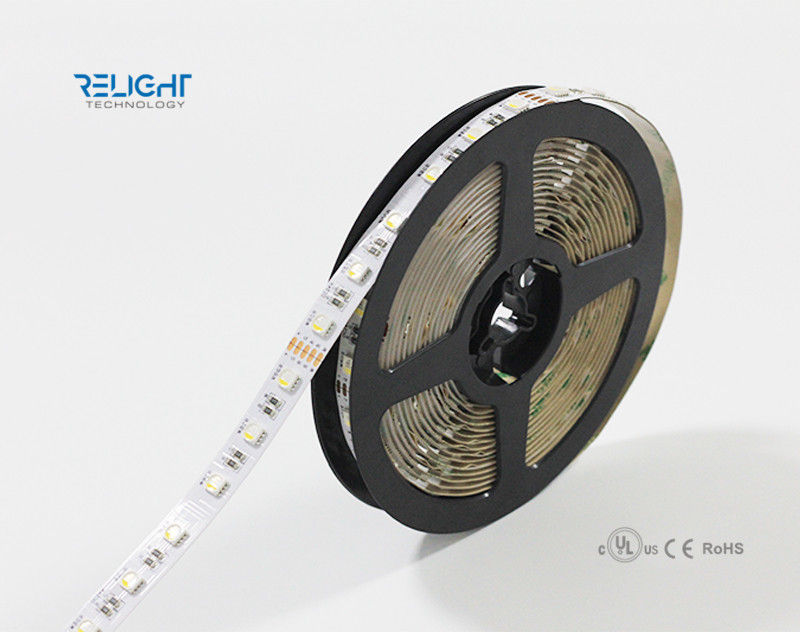 Flexible 5050 RGB LED Strip For Decoration Lighting 1000x12mm Size