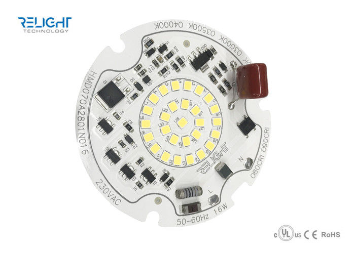 230V Dimmable LED Module driverless ceiling light module 16W surge protection 2.5KV
