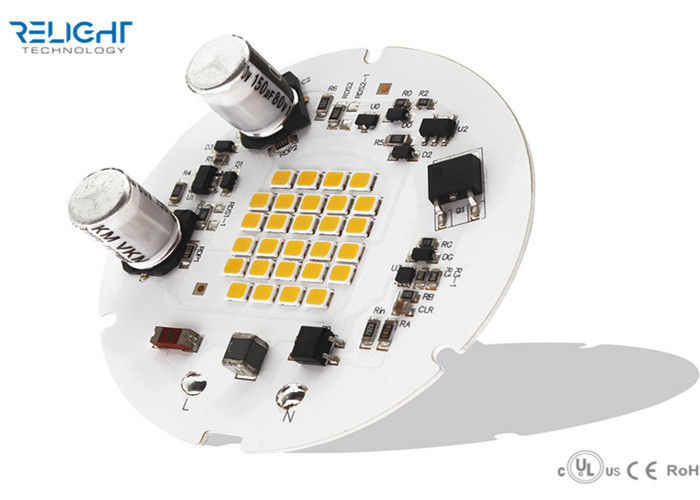 90CRI Low Flicker 65mm Full Color Led Module 3030 Leds D65MM With 30% Flicker supplier