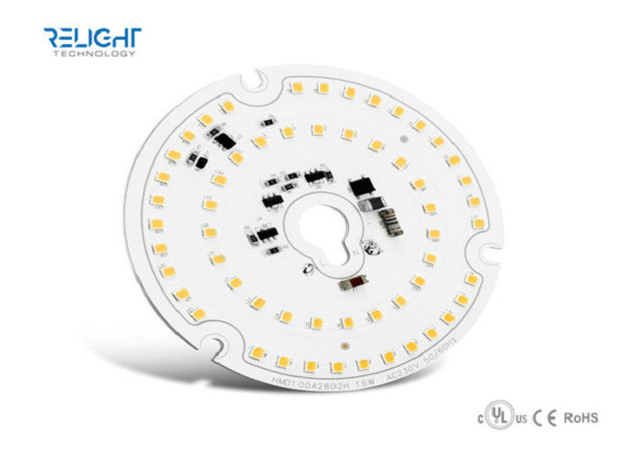 Relight 16w Round line AC led module SMD2835 flicker free, certificated, TRIAC Dimming AC LED Module supplier