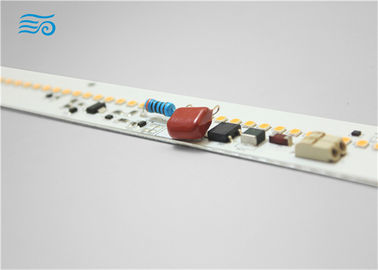 Commercial Linear AC LED Modules 8W with IC driver capacitor flickering free solution