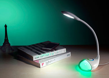 Sensor Touch Changeable LED Night Lamp , Led Study Lamp Wireless Charging