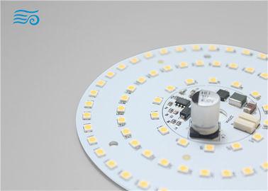 China SMD 2835/5630 cool/warm white led PCB round mudule board with sensor distributor