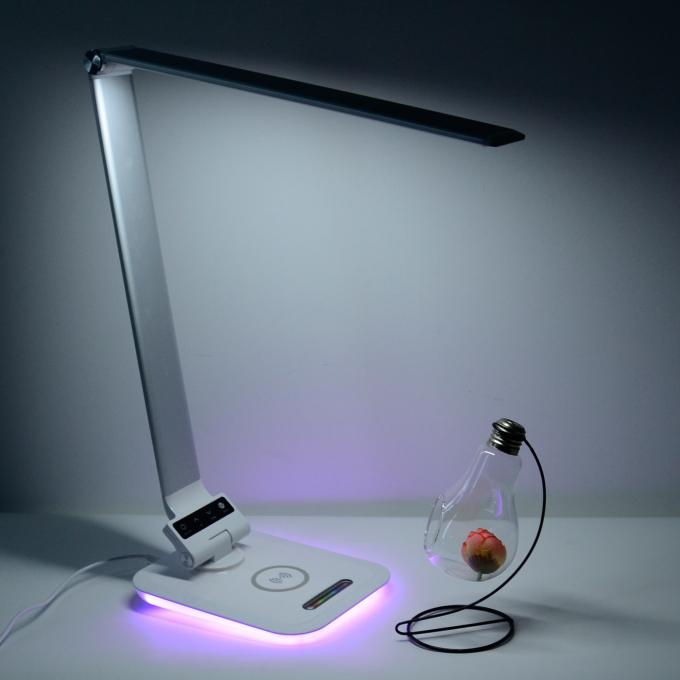 Modern Sensitive Touch Foldable LED Wireless Charging Desk ...