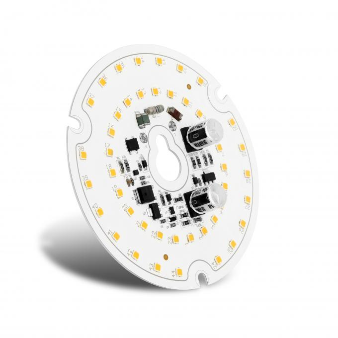 CRI95 Triac Dimming Round LED Module Diameter 70mm for Panel LED Retrofit