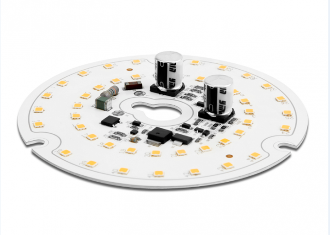 Round AC230V size 100mm led dimmable white color module D100mm-2700K/4000K CRI80 ALUMINUM PCB material