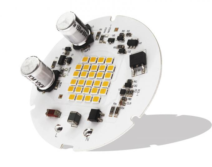 90CRI Low Flicker 65mm Full Color Led Module 3030 Leds D65MM With 30% Flicker