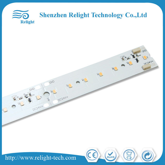Customized Aluminum 36V / 24V  560*24 mm DC Linear LED Module 170lm/w 4000K CRI 80-95