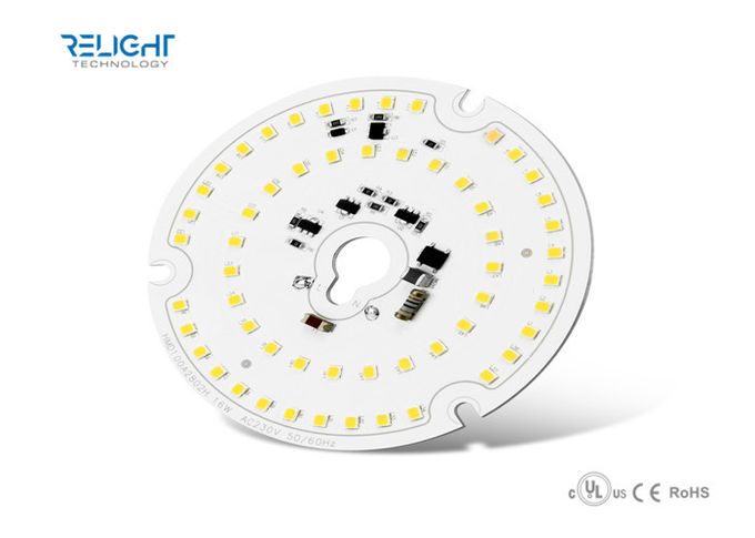 Round Led Panel RGB LED Module 18W With Nichia LED , 2160lm AC220-240V