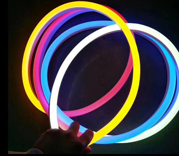 RGB NEON LED Strip Soft With Seven Changing Colors / SMD 5050 RGB LED Strip